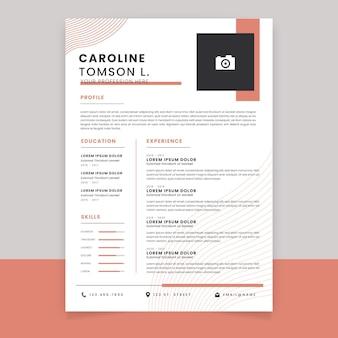 Modelo de cv online