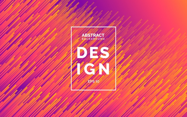 Modelo de design abstrato moderno