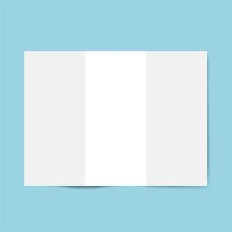 Modelo de design de brochura maquete