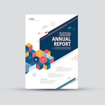 Modelo de design de brochura