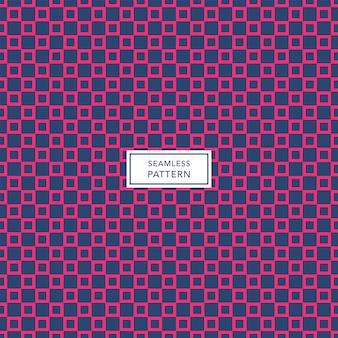 Modelo de design de capa com padrão geométrico azul e rosa. fundo quadrado sem costura.