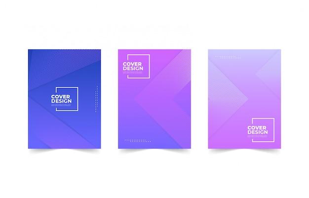 Modelo de design de capa