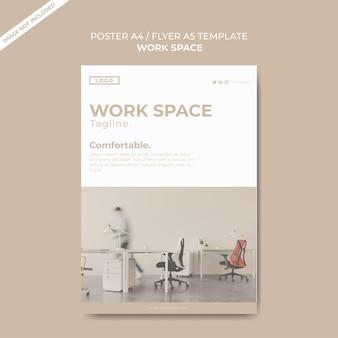 Modelo de design de cartaz