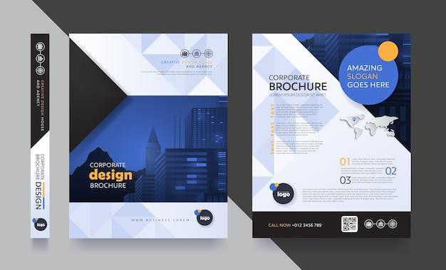 Modelo de design de folheto