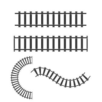 Modelo de design de ilustração vetorial de ícone de trem rápido