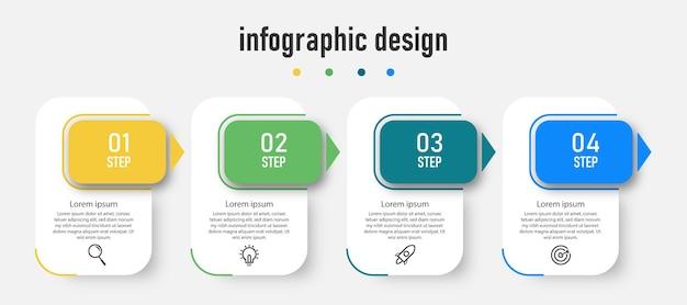 Modelo de design de infográfico