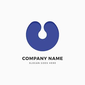 Modelo de design de logotipo da letra c cópia