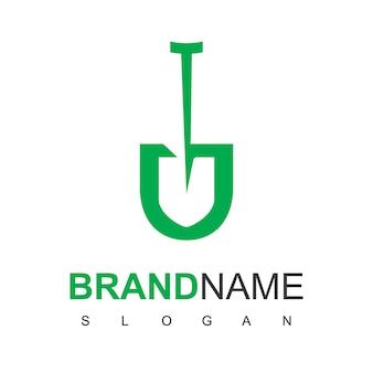 Modelo de design de logotipo de agricultura