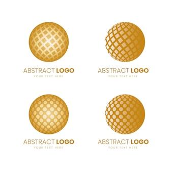 Modelo de design de logotipo de negócios abstrato