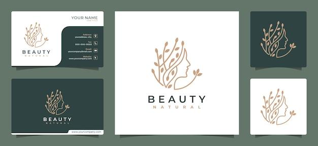 Modelo de design de logotipo de negócios de beleza