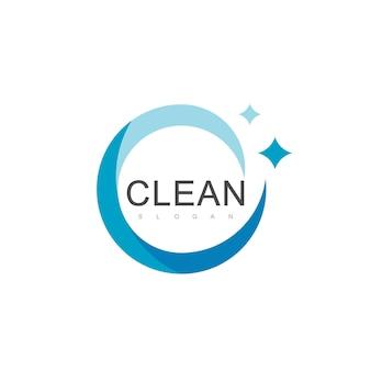 Modelo de design de logotipo limpo