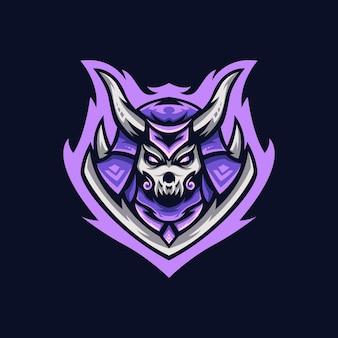 Modelo de design de logotipo reaper esport