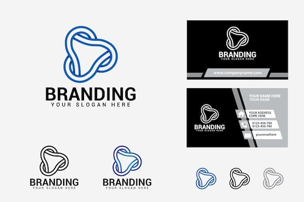 Modelo de design de marca