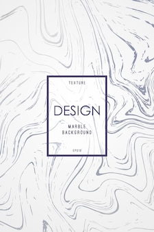 Modelo de design de mármore para convite.