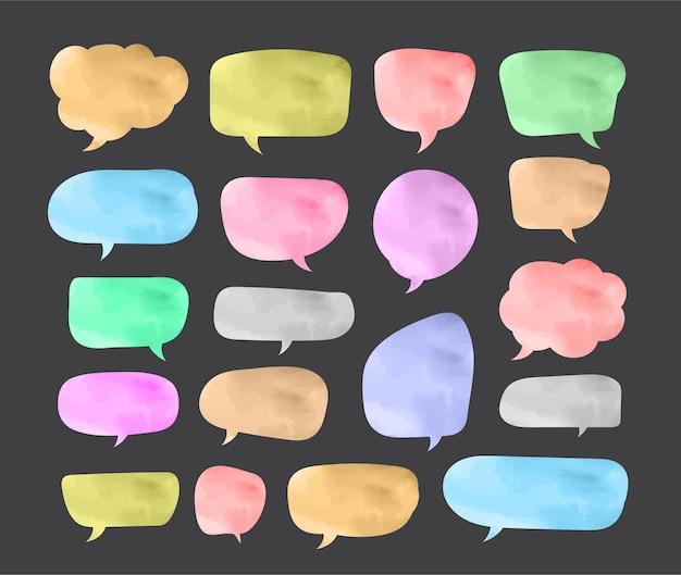 Modelo de design de papel de corte de bolha de discurso ilustração vetorial para o seu negócio