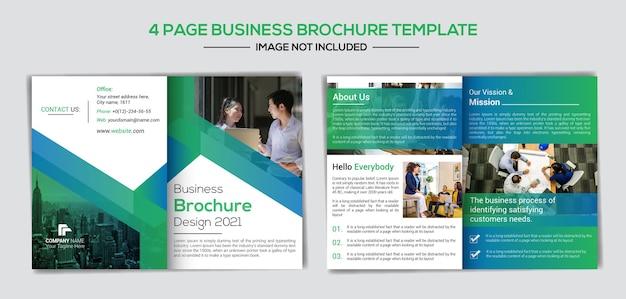 Modelo de design de perfil de negócios criativos