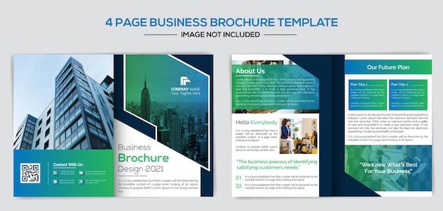 Modelo de design de perfil de negócios de empresa criativa