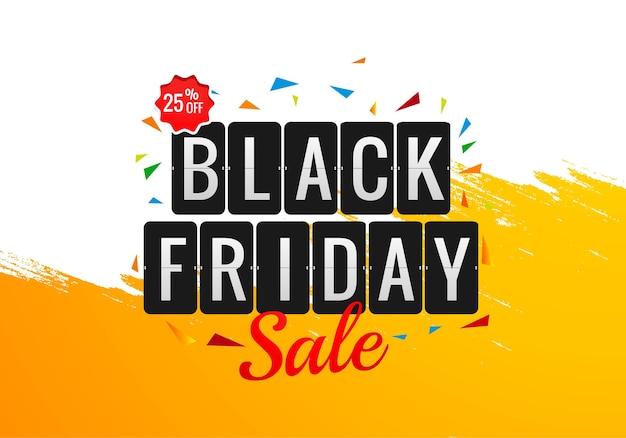 Modelo de design de venda de feriado na sexta-feira negra