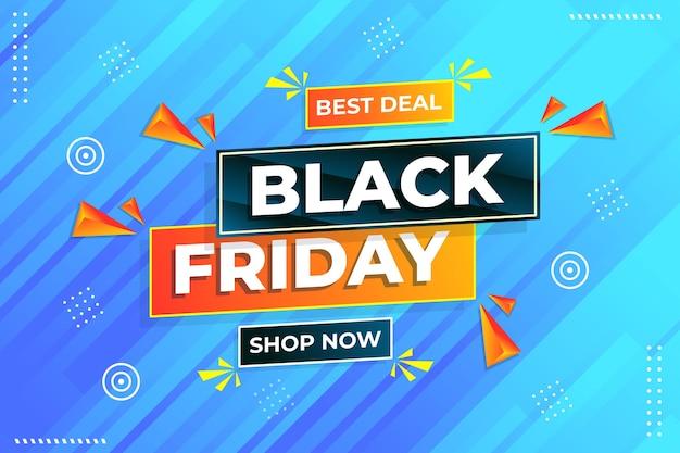 Modelo de design de venda final de black friday