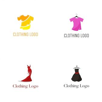 Modelo de design de vetor de logotipo de vestuário