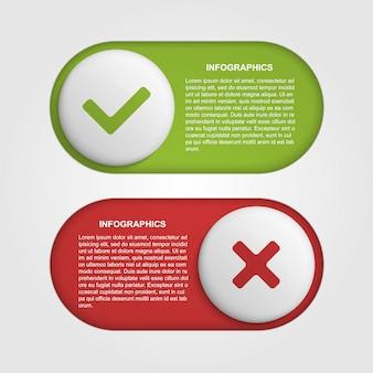 Modelo de design do infográfico slider.