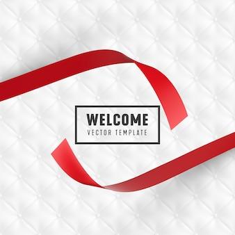 Modelo de design minimalista de inauguração.