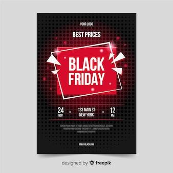 Modelo de design plano de sexta-feira negra
