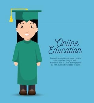 Modelo de educação online