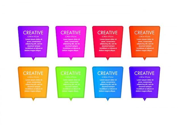 Modelo de elementos de design web moderno com navegação, botões, ícones, blocos. modelo de interface da web. modelo de negócios moderno para apresentação, design web, banners e cartazes