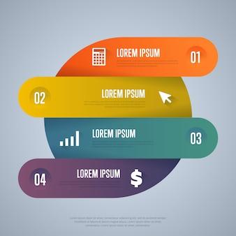 Modelo de elementos de infografia