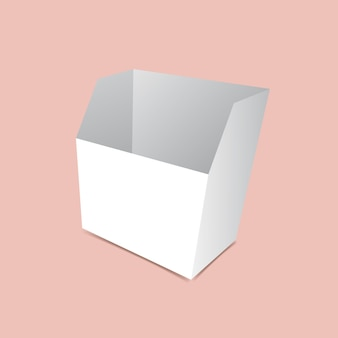 Modelo de embalagem de lanche