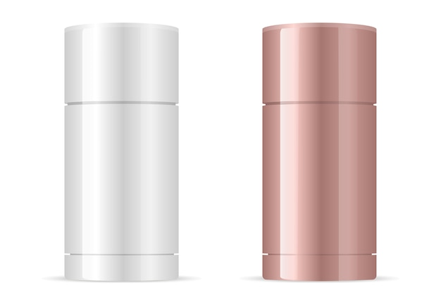 Modelo de empacotamento de desodorante antiperspirante.