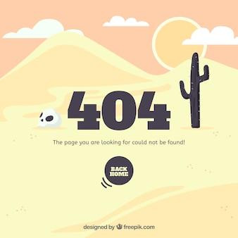 Modelo de erro 404 desenhado mão