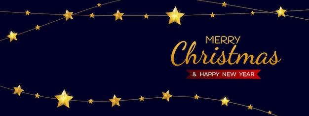 Modelo de feriado de feliz natal e feliz ano novo