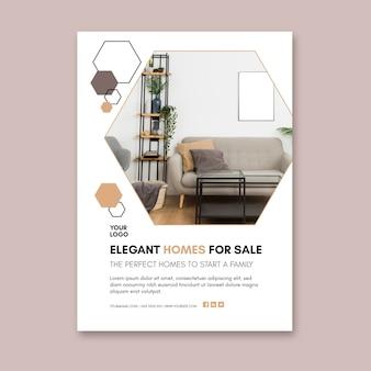 Modelo de folheto de casas modernas