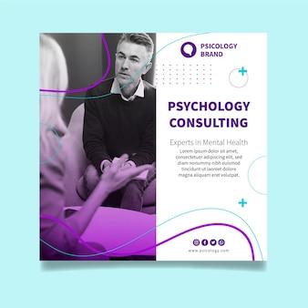 Modelo de folheto de consultoria em psicologia