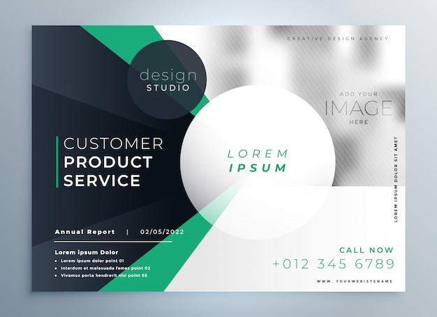 Modelo de folheto de negócios empresa profissional