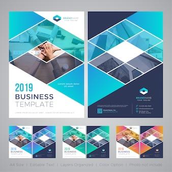Modelo de folheto de negócios