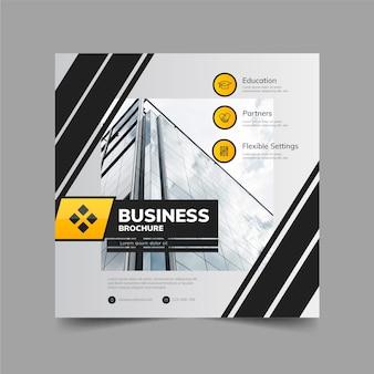 Modelo de folheto - negócios