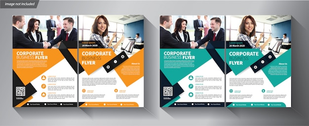 Modelo de folheto para empresa