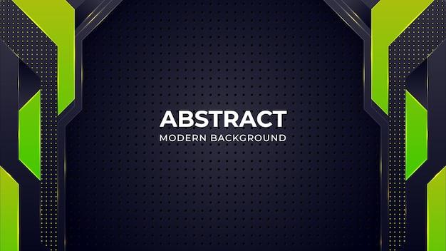 Modelo de fundo abstrato moderno com formas geométricas