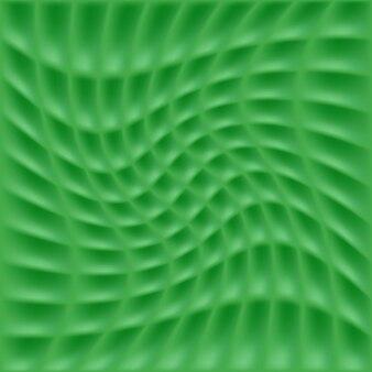 Modelo de fundo verde abstrato com linhas de grade de redemoinho para design de capa