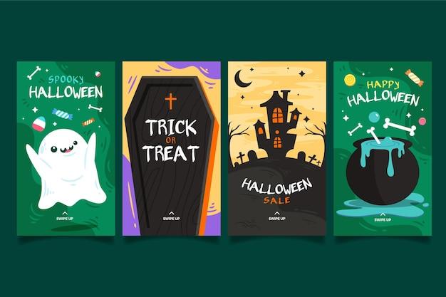 Modelo de histórias do instagram para festival de halloween