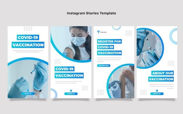Modelo de histórias instagram médicas de gradiente