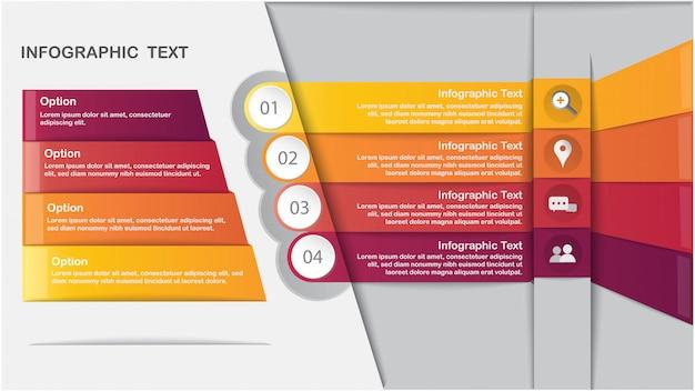 Modelo de infografia moderna
