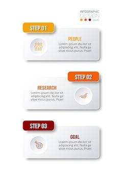 Modelo de infográfico de fluxo de trabalho de negócios