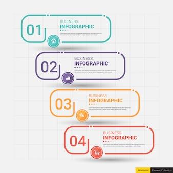 Modelo de infográficos de utilidade.