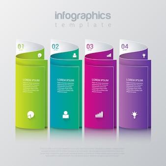 Modelo de infográficos