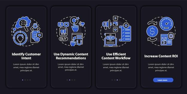 Modelo de integração de dicas de conteúdo inteligente