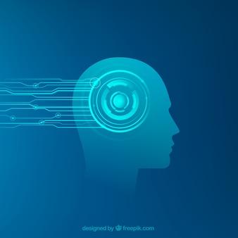 Modelo de inteligência artificial abstrata